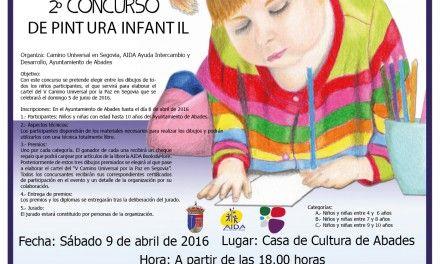V Camino Universal por la Paz en Segovia. Diseño del cartel