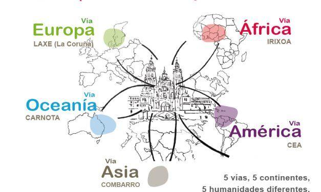 X Camino Universal a Santiago de Compostela: 19 al 23 Julio 2016