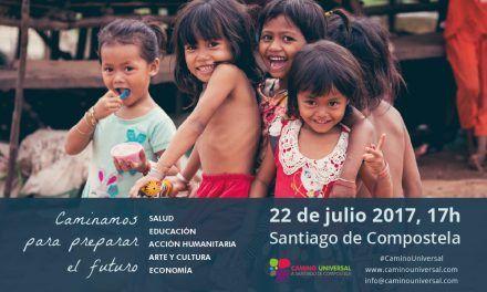 «Caminamos para preparar el futuro» 22 julio, Cidade da Cultura, Compostela